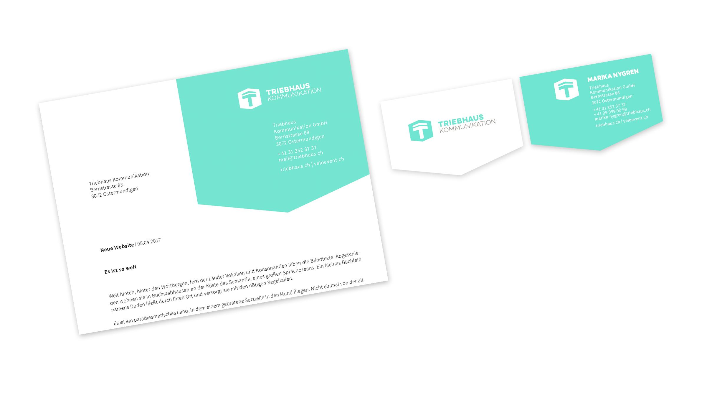 Logo Corporate Design Triebhaus Kommunikation